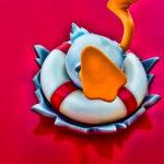 AquaDuck iPhone 960x640 Wallpaper