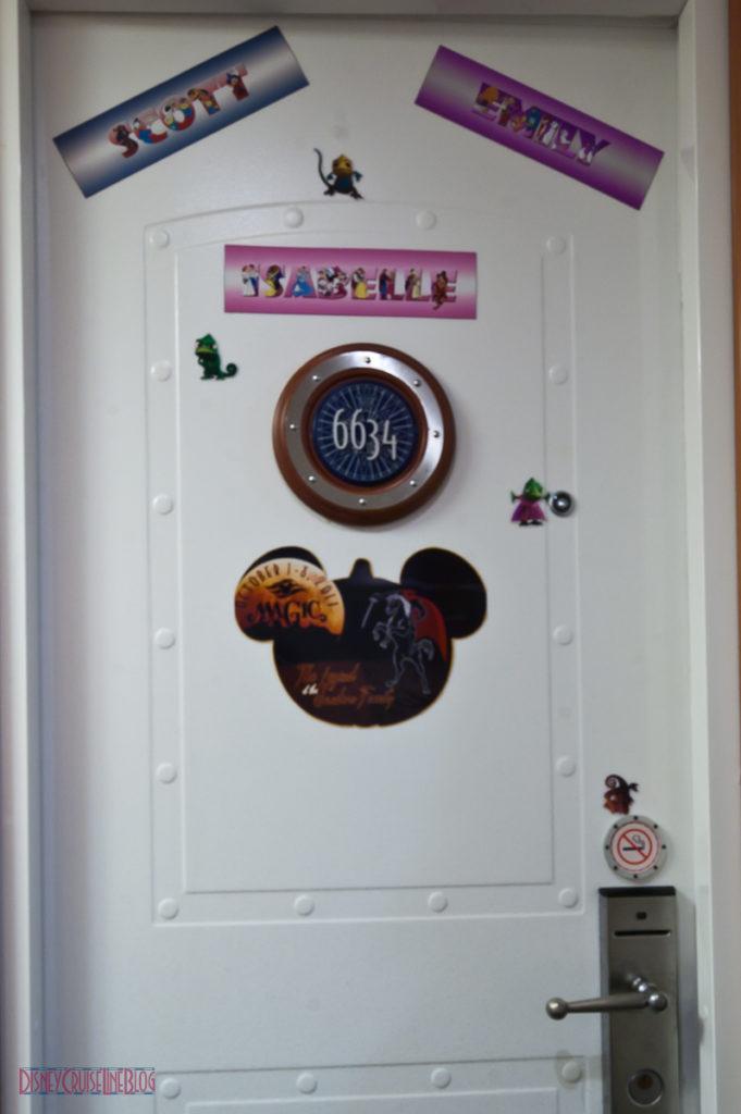 Disney Magic Stateroom 6634 Door Magnets
