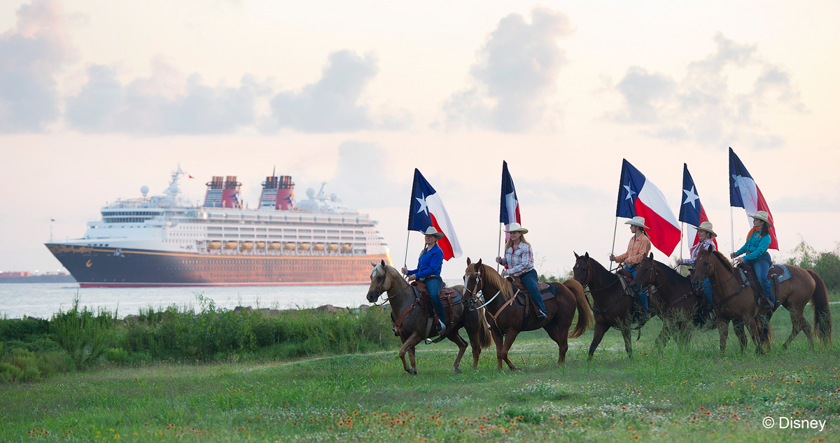 Disney Magic Salutes the Lone Star State with a Cowboy Hat