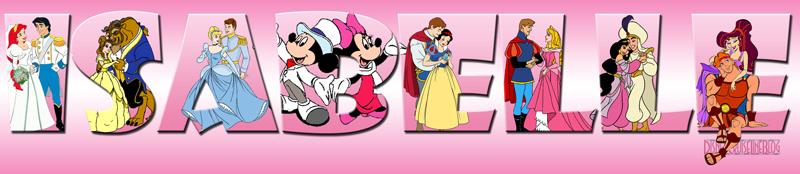 Door Magnet Character Nameplate - Isabelle
