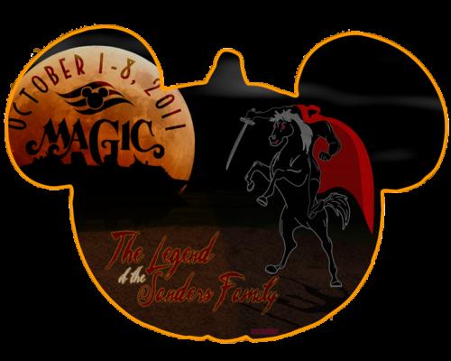 Door Magnet October 2011 Disney Magic