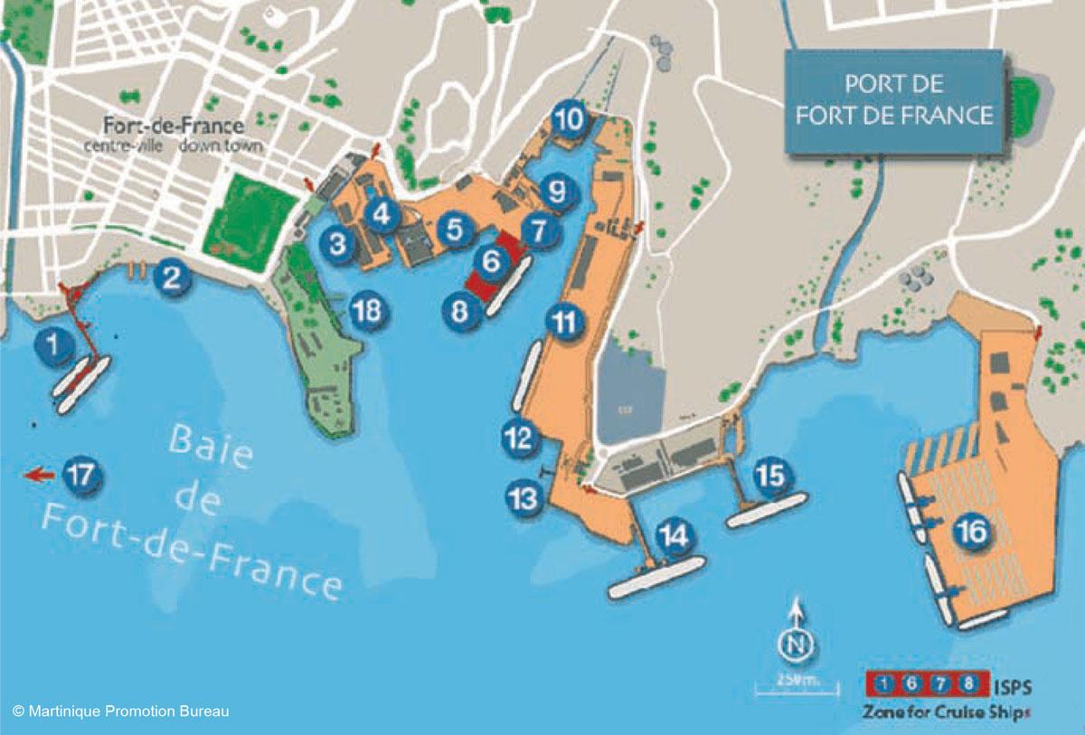 Martinique Plays Host To Florida Caribbean Cruise Association