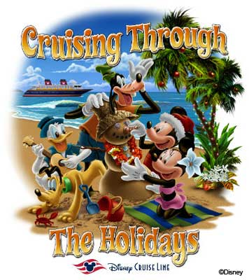 Disney Cruise Line Cruising Through the Holidays 2012