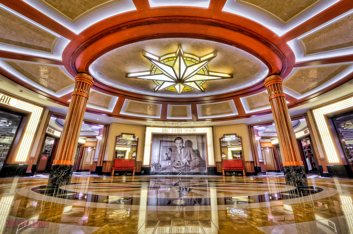 Disney Dream\ Walt Disney Theatre Rotunda