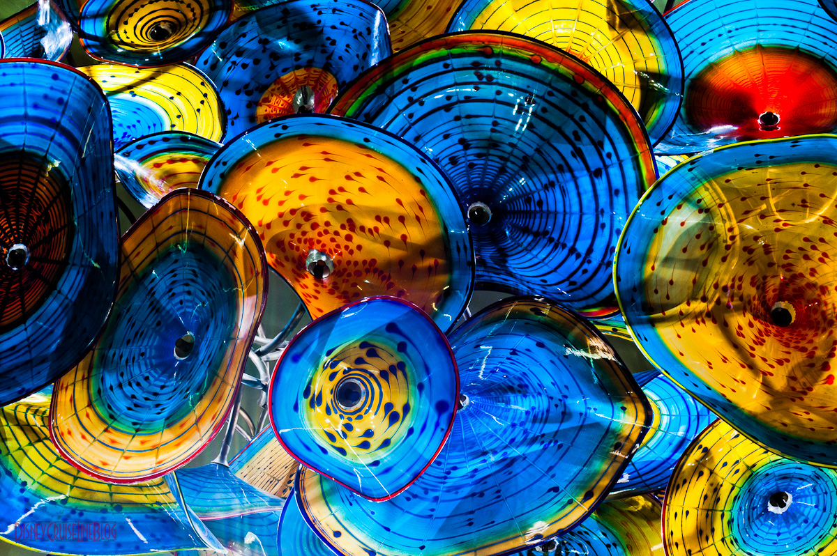 Disney Wonder Atrium Lobby Chandelier by Dale Chihuly • The Disney ...