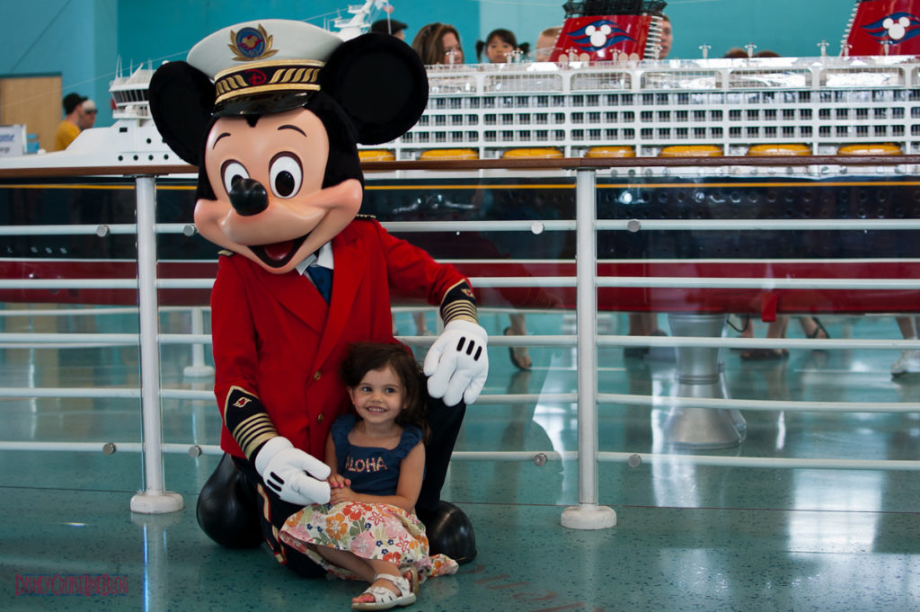 Captain Mickey Meet & Greet at Port Canaveral
