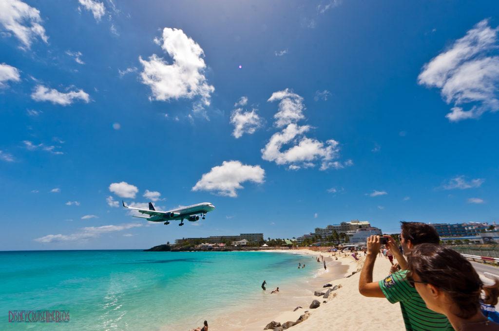 Bernard's Tours - Maho Beach St Maarten Airplane Landing