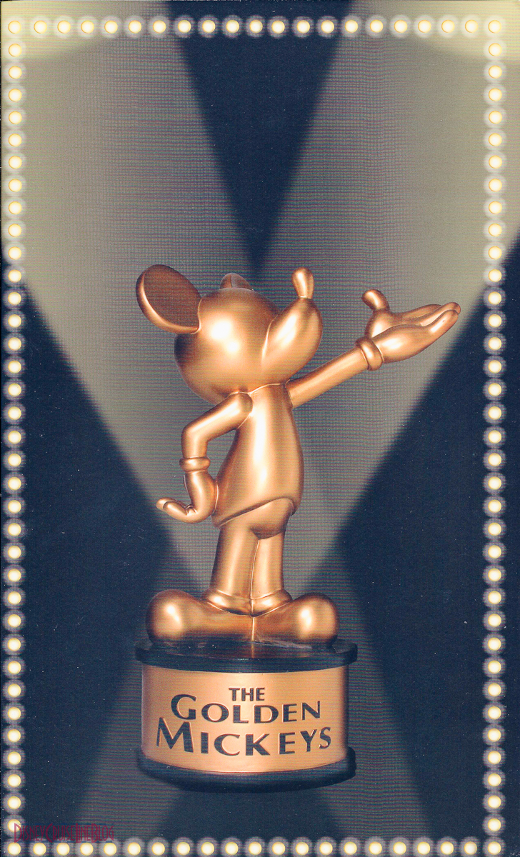 The Golden Mickeys Dinner Menu The Disney Cruise Line Blog