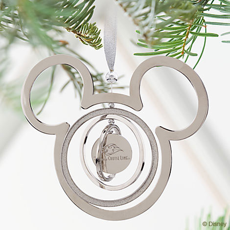 Disney Cruise Line Mickey Ornament 2012