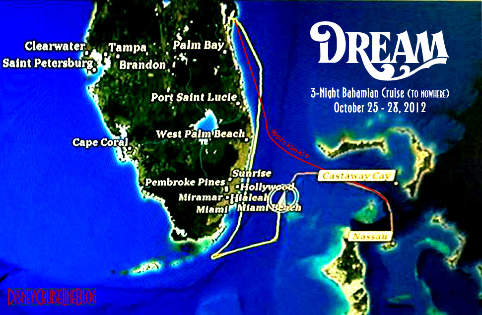 Dream Route Map Hurricane Sandy October 2012