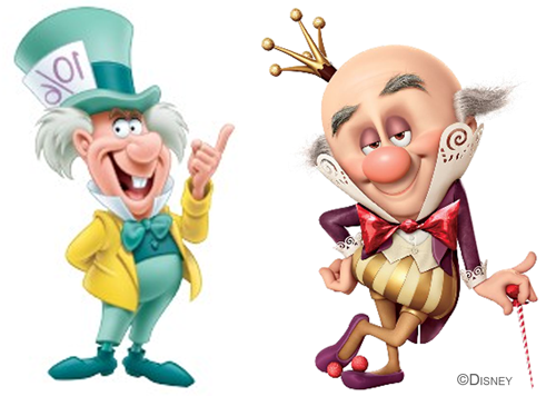 Wreck-It Ralph Mad Hatter VS King Candy