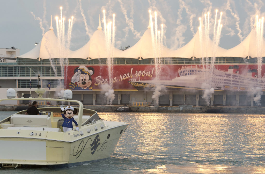 See Ya Real Soon Port of Miami Fireworks - Captain Mickey