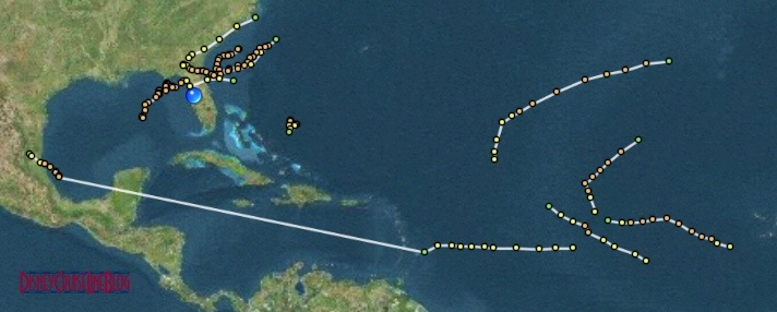 Hurricane Season 2012 - Tropical Storm Summary