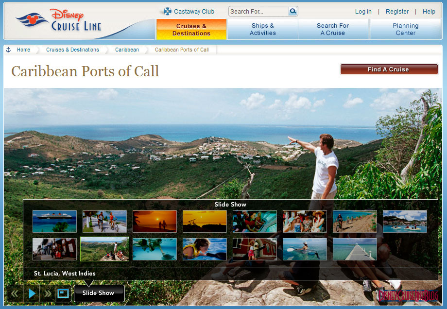 DCL New Caribbean Ports - St Lucia