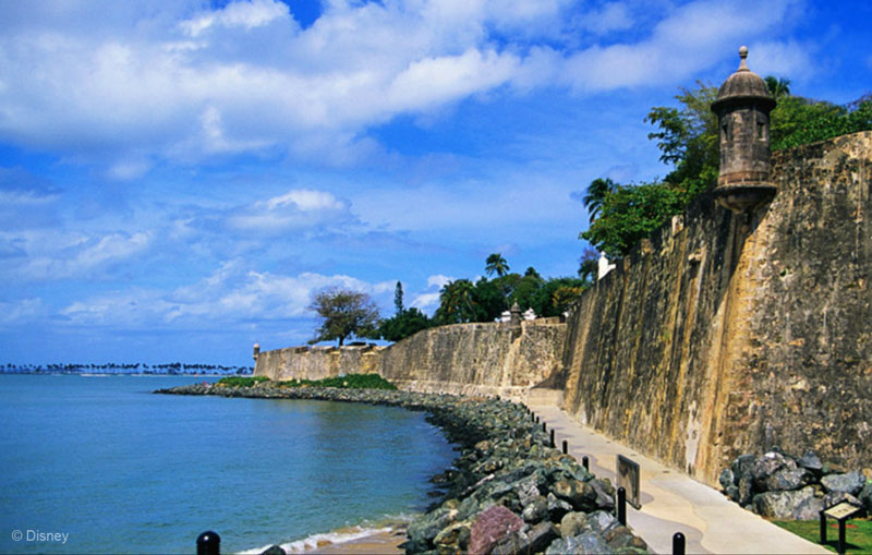 San Juan Puerto Rico  city photos : Fantasy Makes Her Inaugural Visit to San Juan Puerto Rico Today ...