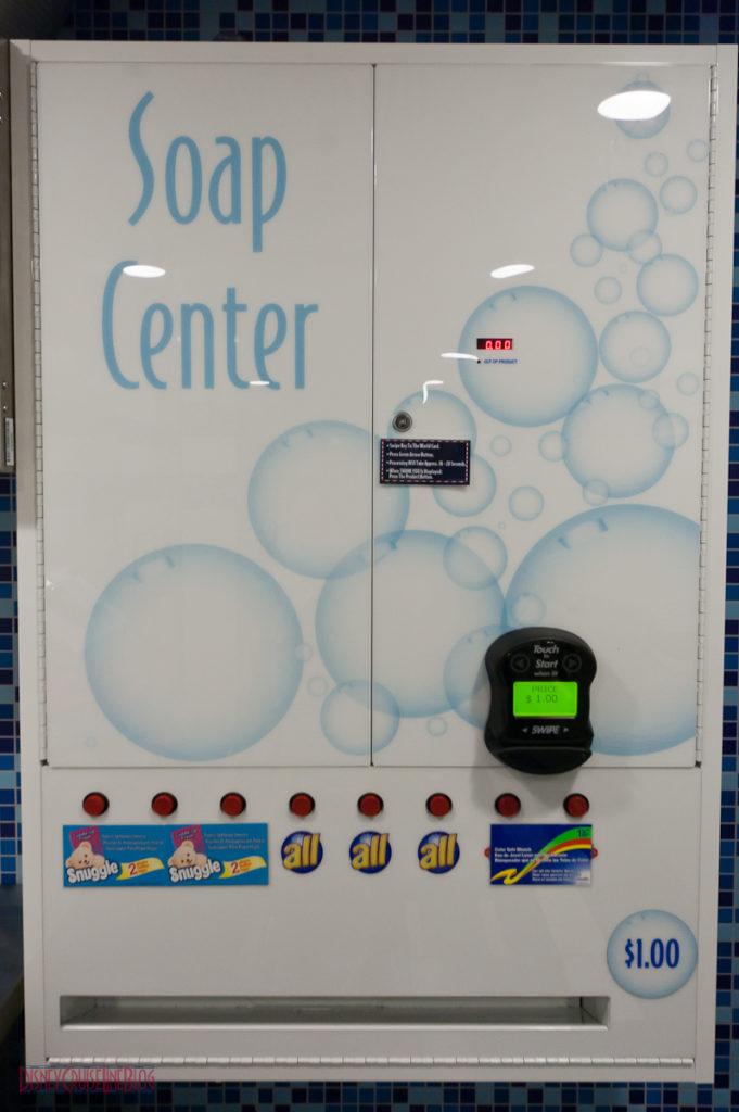 Disney Fantasy Self Service Laundry - Soap Center