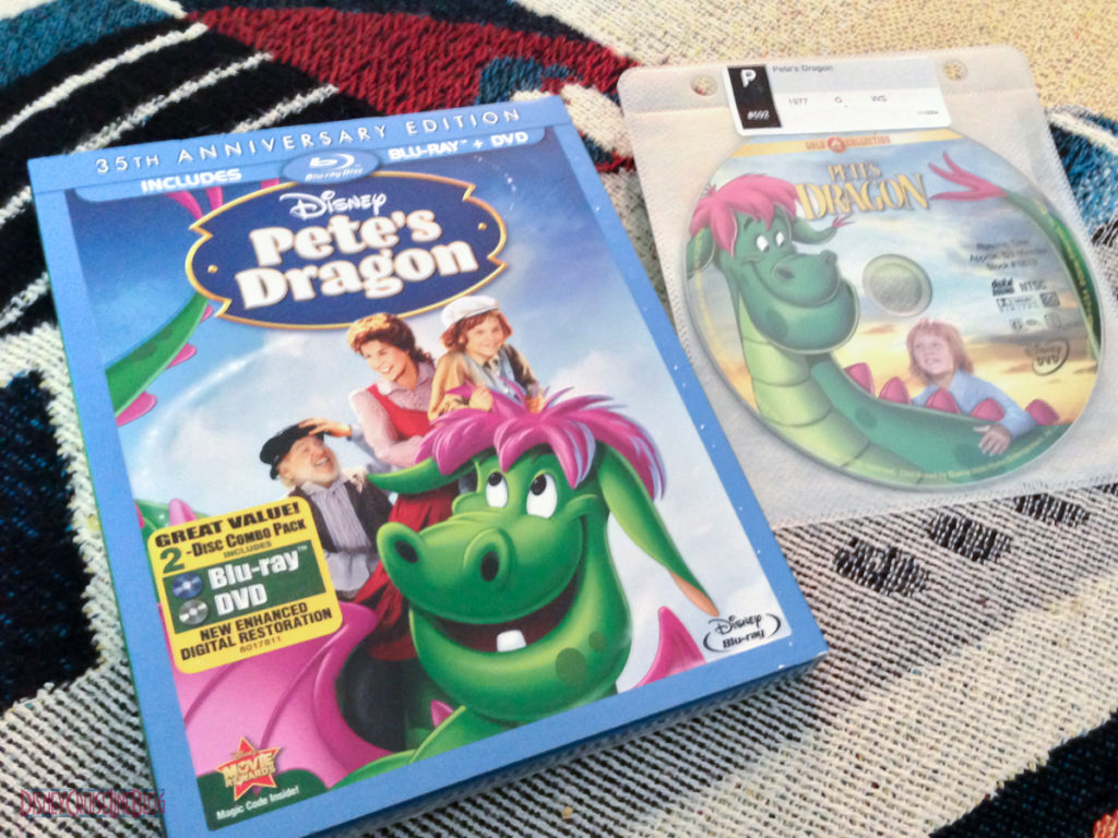 Pete's Dragon Blu-ray & Gold Collection DVD