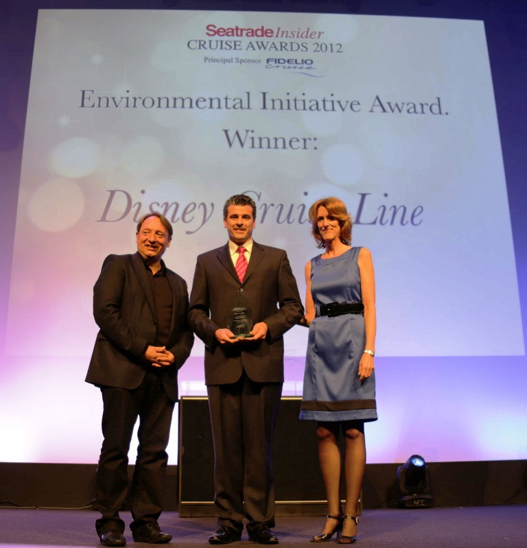 Seatrade Insider Presents Disney Cruise Line with the 2012 Environmental Initiative Award