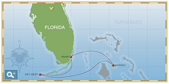 3-Night Bahamian Cruise on Disney Magic Itinerary C