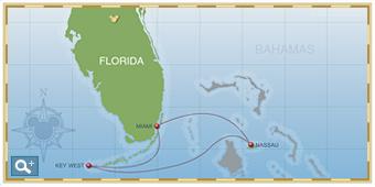 3-Night Bahamian Cruise on Disney Magic Itinerary C