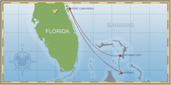 4-Night Bahamian Cruise on Disney Dream - Itinerary A
