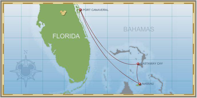 4-Night Bahamian Cruise on Disney Dream - Itinerary A