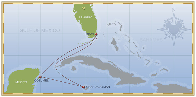 5-Night Western Caribbean Cruise on Disney Wonder - Itinerary B