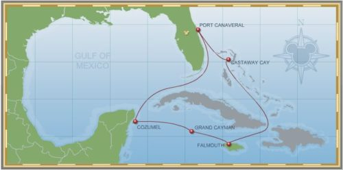 7-Night Western Caribbean Cruise on Disney Fantasy - Itinerary C
