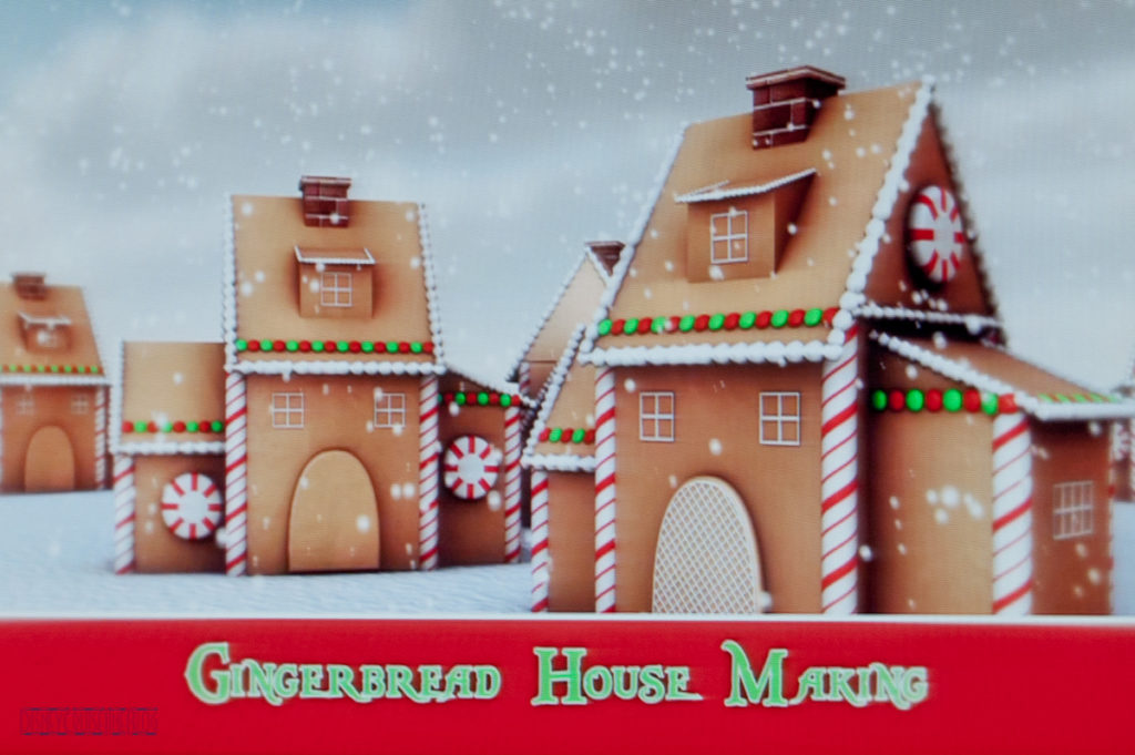 Gingrebread House Making - Graphic