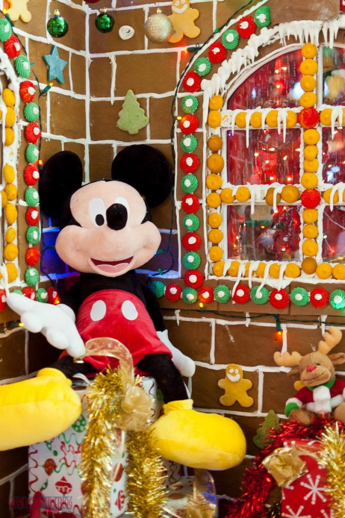 Disney Fantasy Gingerbread House - Mickey