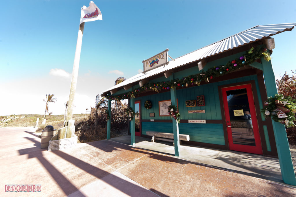 Castaway Cay Christmas - Post Office