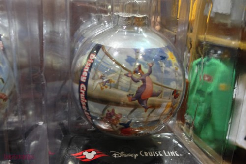 DCL 2012 Holiday Merchandise - Disney Cruise Glass Ornament I