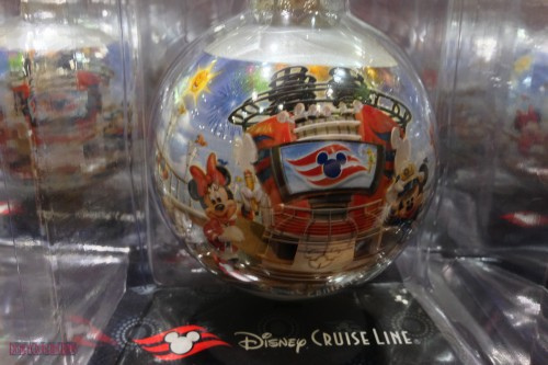 DCL 2012 Holiday Merchandise - Disney Cruise Glass Ornament II