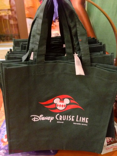 DCL 2012 Holiday Merchandise - Reusable Totebag