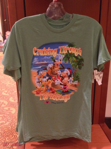 DCL 2012 Holiday Merchandise - Cruising Through the Holidays T-S
