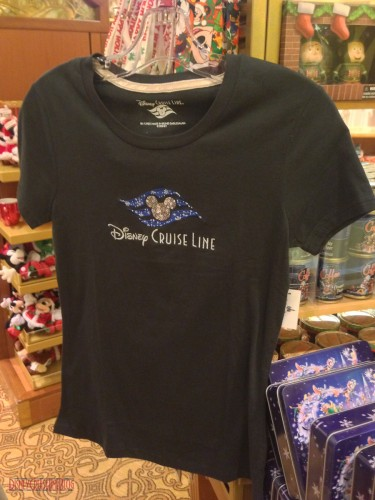 DCL 2012 Holiday Merchandise - Womens Snowflake T-Shirt