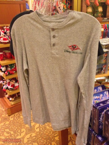 DCL 2012 Holiday Merchandise - Mens Henley Shirt