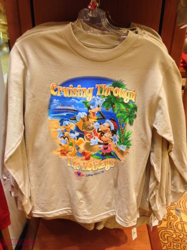 DCL 2012 Holiday Merchandise - Cruising Through the Holidays Lon