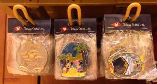 DCL 2012 Holiday Merchandise - Flat Ornaments