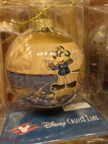 DCL 2012 Holiday Merchandise - Classic Glass Ornament