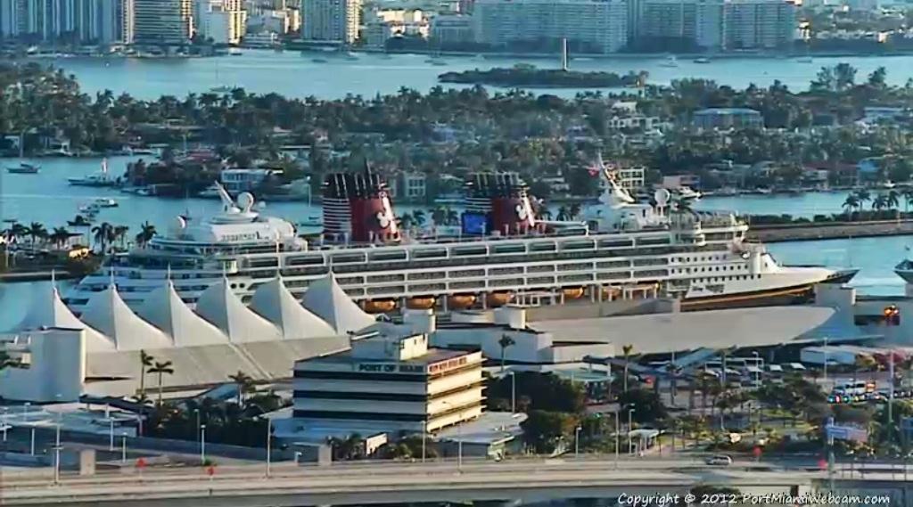 Disney Wonder Welcome To Miami The Disney Cruise Line Blog - Cruise ship port in miami