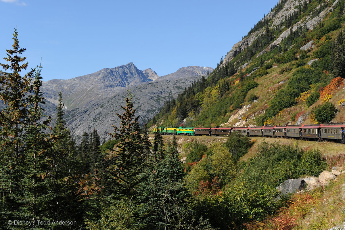 Alaska Skagway Train