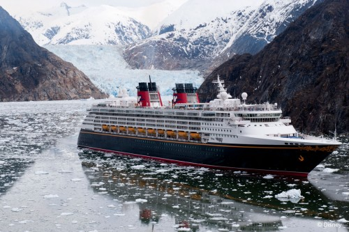 Alaska Tracy Arm Disney Wonder