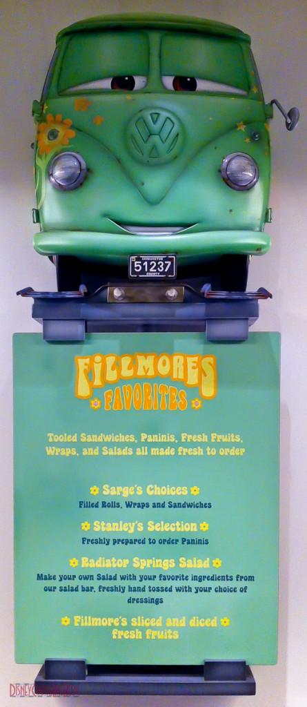 Flo's V8 Cafe - Fillmores Favorites - Menu