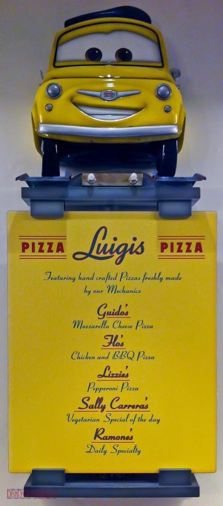 Flo's V8 Cafe - Luigis Pizza - Menu