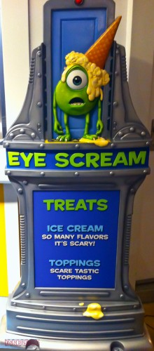 Eye Scream Treats - Menu