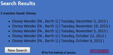 Jamaica Disney Search Results