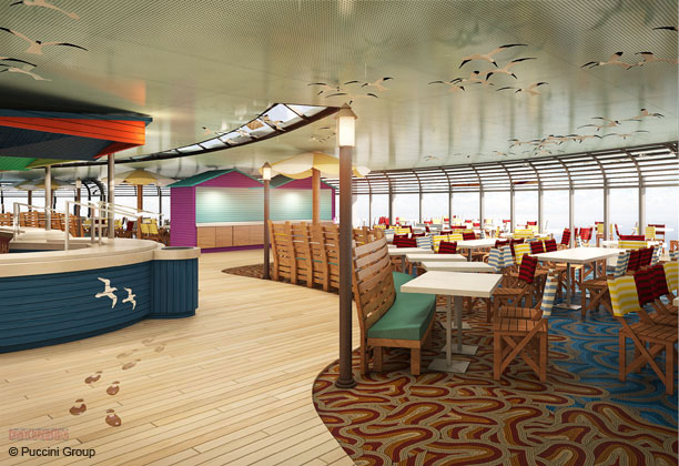 Potential Interior Concept Design Renderings For The Disney Magics 2013 Overhaul O Cruise Line Blog