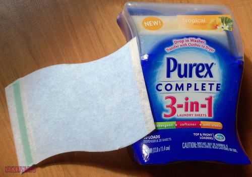 Purex 3-in-1 Laundry Sheets