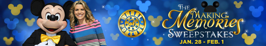 """It's """"Disney Time"""" at Wheel of Fortune as Disney Teams up to"""